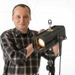 Marcin Molencki - brygadzista pracowni elektroakustycznej